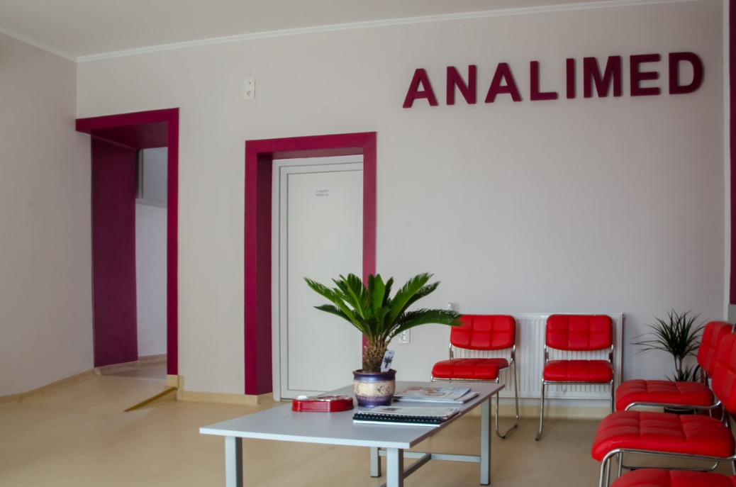 Analimed - sala de asteptare